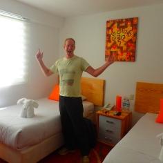 Simons reaction to single beds